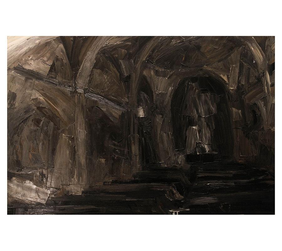 Interior de la Iglesia de Ozumba