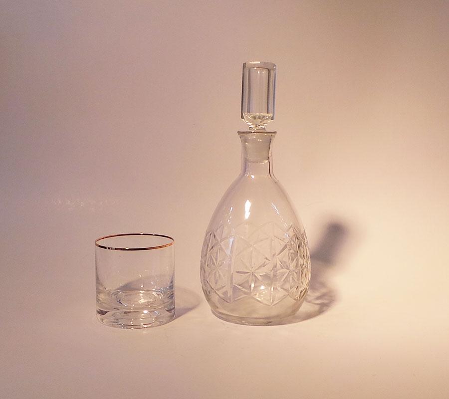 Botellon cristal